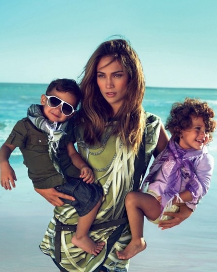 Jennifer Lopez Twins Gucci