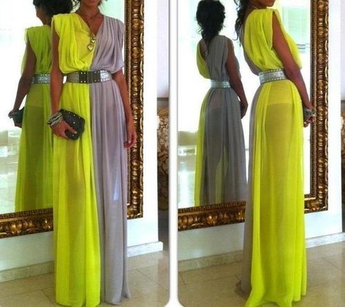 Платья длинные своими руками